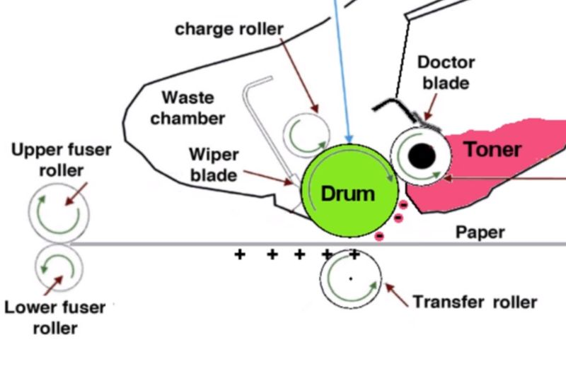 Cosa fare quando la stampante laser sporca i fogli?